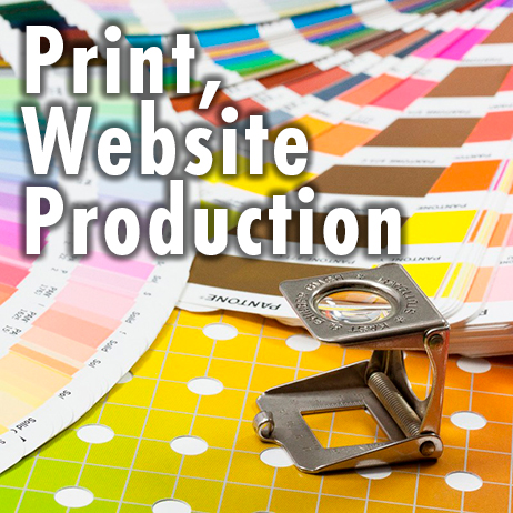 Print, Website Production
